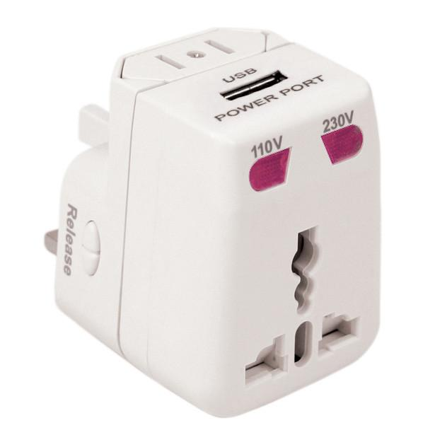 Worldwide Adapters and Dual USB Charger - Jet-Setter.ca