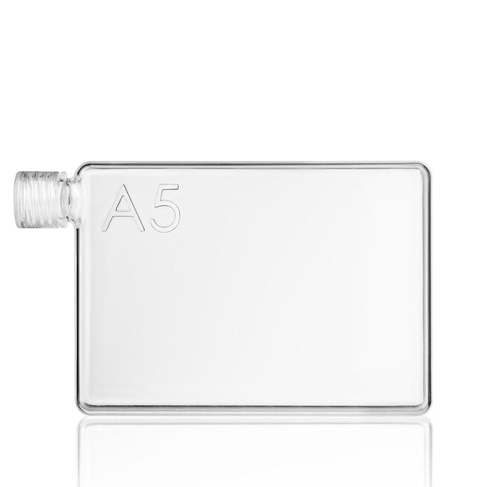 A5 memobottle 750ml Flat Water Bottle - Jet-Setter.ca