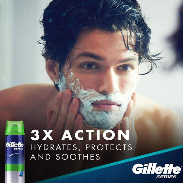 Gillette Sensitive Skin Shaving Gel - 2.5 oz