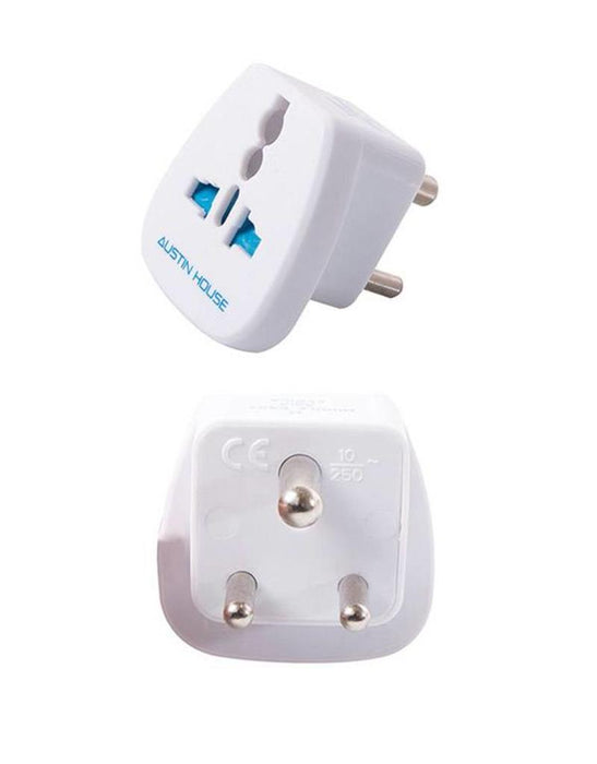 Middle East, Africa & Asia Grounded Adapter Plug