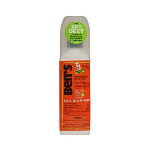 Ben's 30 Insect Repellent Spray - Jet-Setter.ca