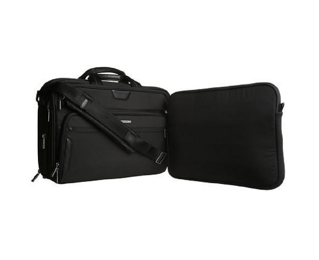 Briggs & Riley Black Large Expandable Briefcase