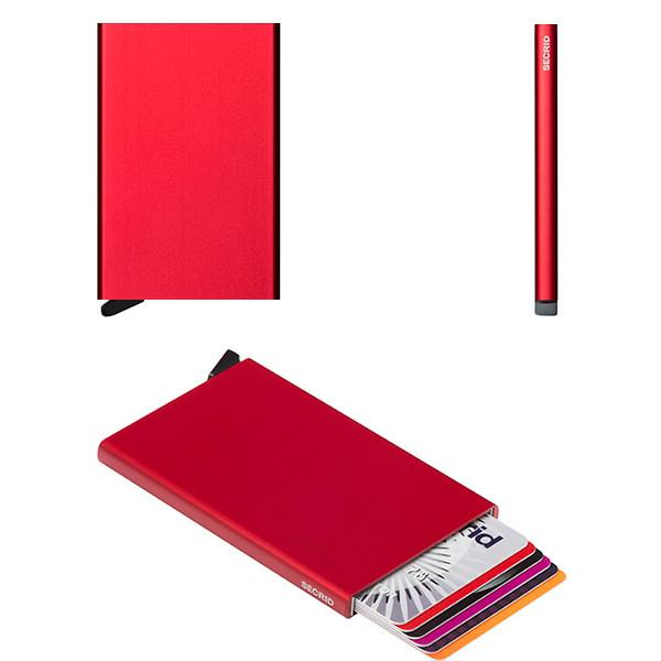 Secrid RFID Card Protector Wallet - Red