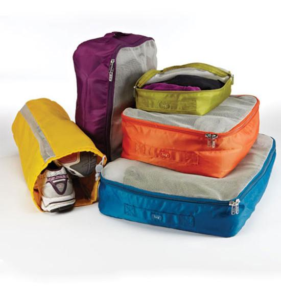 Cargo 5 Piece Packing Kit - Jet-Setter.ca