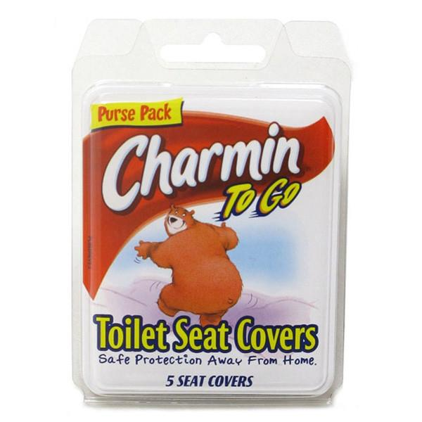 Charmin To Go Toilet Seat Covers - 5 Pack - Jet-Setter.ca