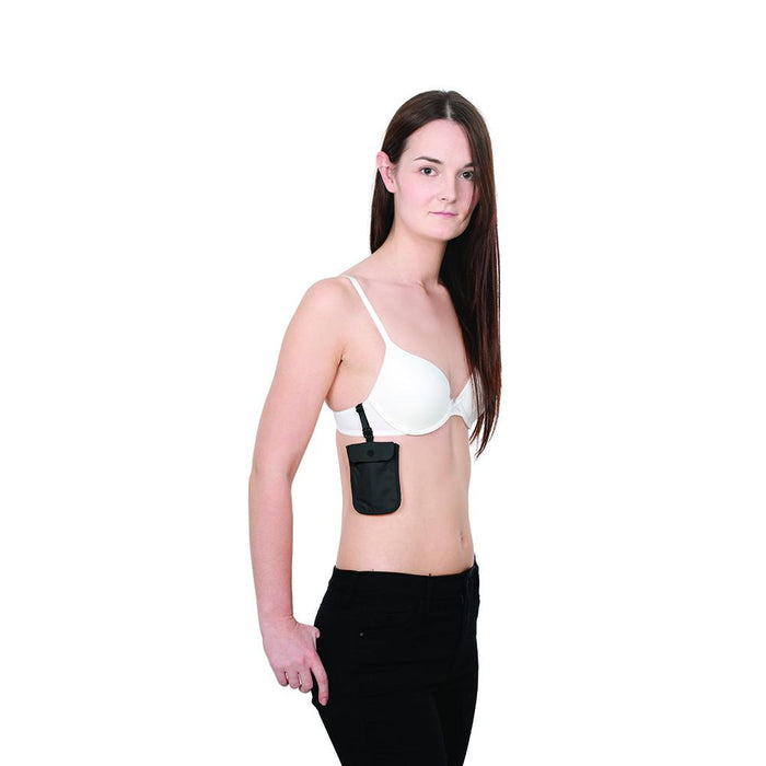 Pacsafe® Coversafe™ S25 secret bra pouch - Jet-Setter.ca