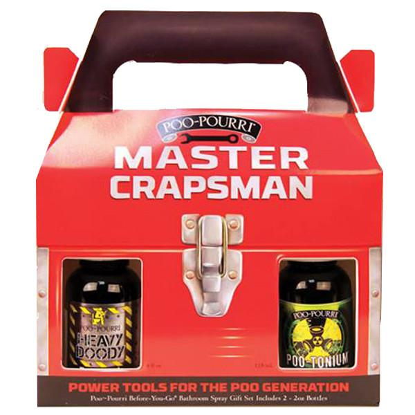 Master Crapsman : Before You Go Toilet Spray Gift Set - Jet-Setter.ca