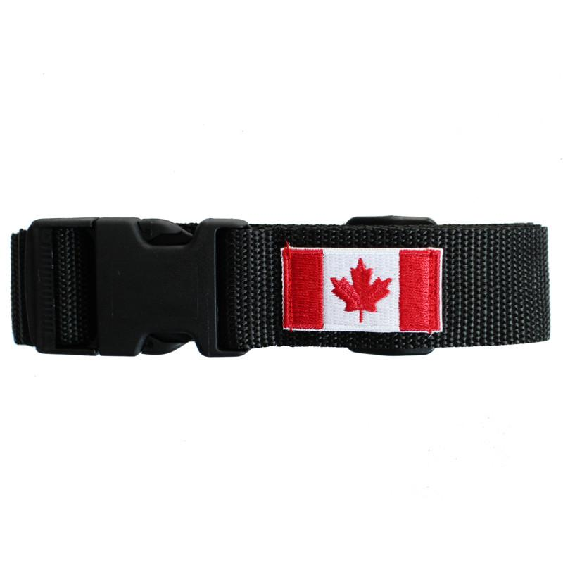 Canadian Flag Luggage Belt