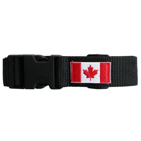 Canadian Flag Luggage Belt - Jet-Setter.ca