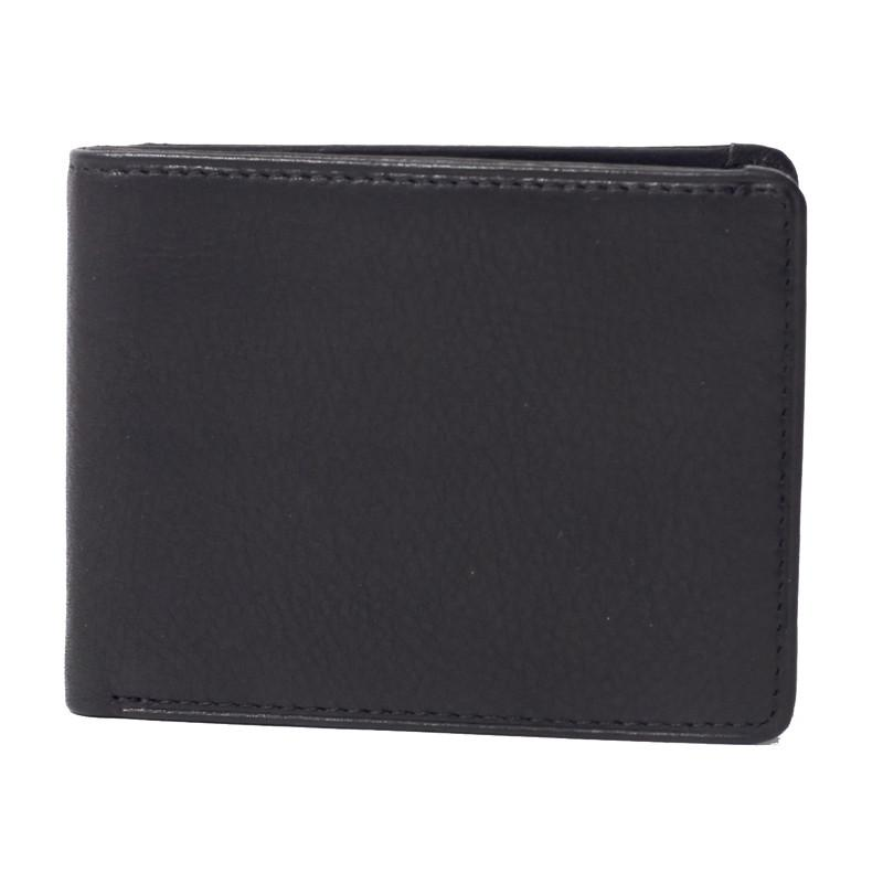 Leather Ultra-Mini RFID Blocking Wallet