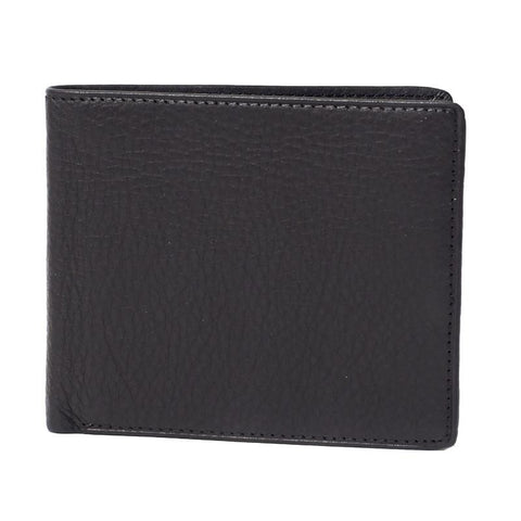 Leather Bi-Fold Flipper RFID Blocking Wallet - Jet-Setter.ca
