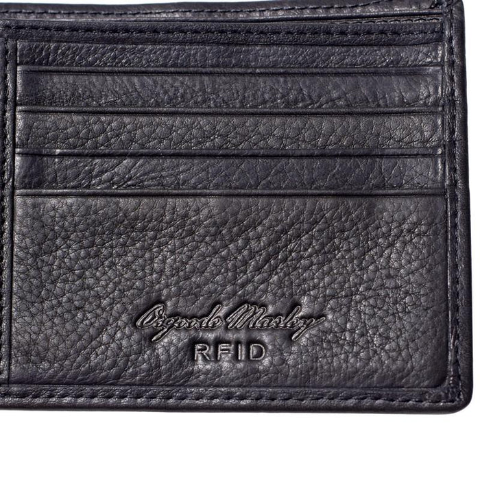 Leather RFID Blocking ID Pass Wallet - Jet-Setter.ca