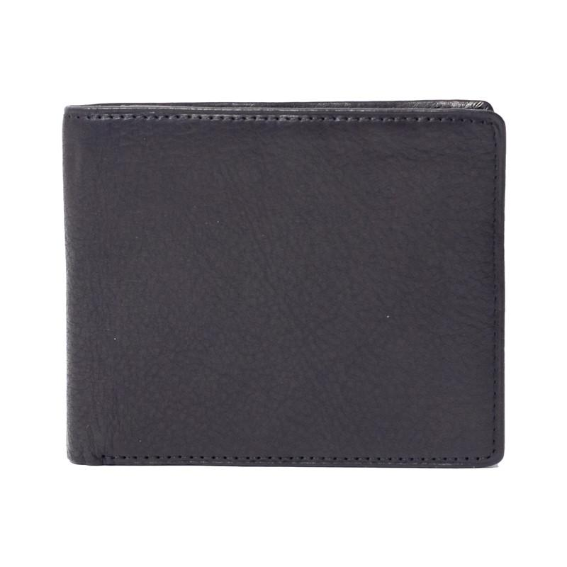 Leather RFID Blocking ID Pass Wallet