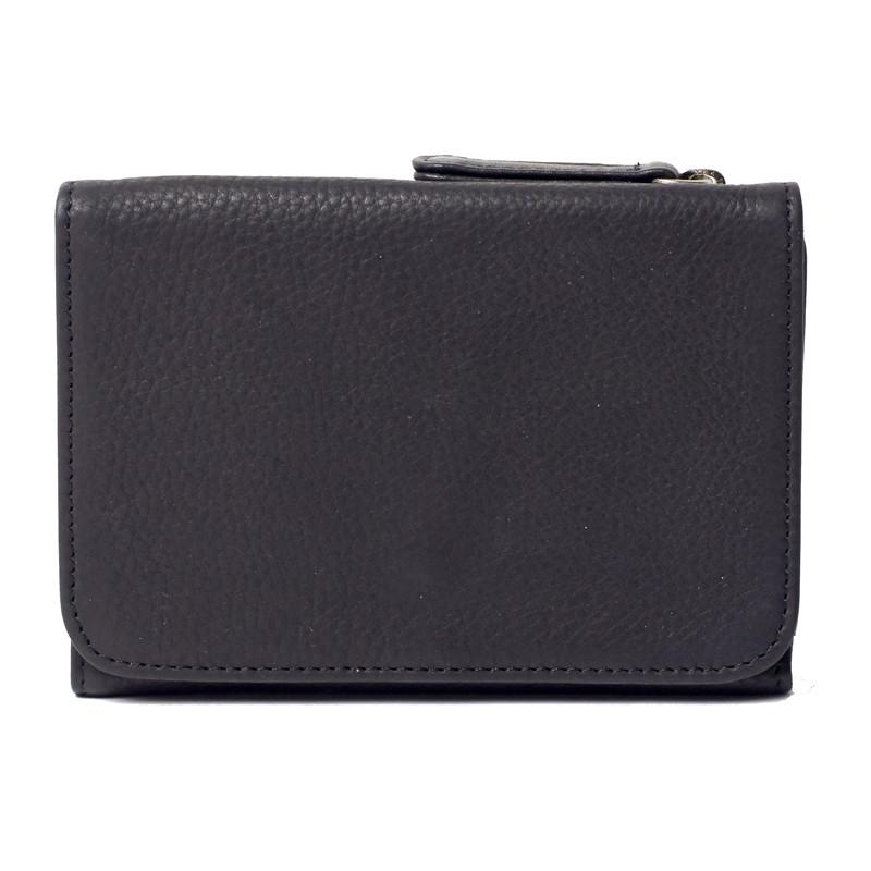 Leather RFID Blocking Snap Wallet