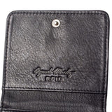 Leather RFID Blocking Mini Wallet - Jet-Setter.ca