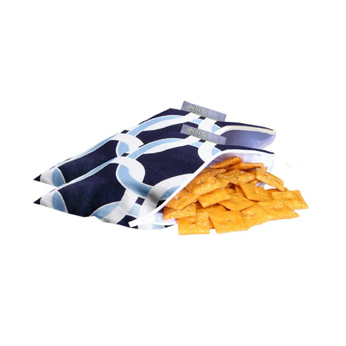 Snack Happens Mini Reusable Everything Bags - 2-Pack - Jet-Setter.ca