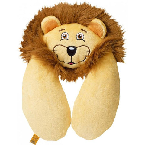 Lion Flat Travel Neck Pillow - Jet-Setter.ca