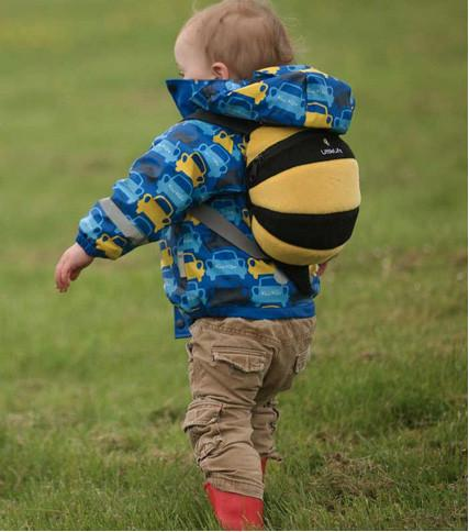 Bee Toddler Backpack with Rein - Jet-Setter.ca