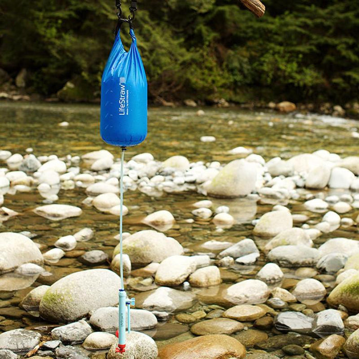 LifeStraw Mission 12 Liter Portable Water Filter - River