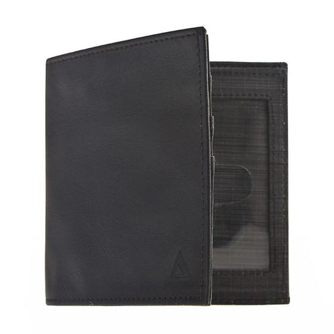 Men's Leather RFID Bi-Fold Wallet