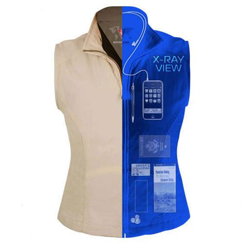 Women's ScotteVest - X-Ray Split