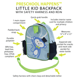 Preschool Happens Children's Backpack With Harness