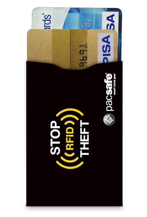 RFID-Blocking Credit Card Sleeve 25 - Jet-Setter.ca