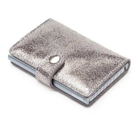 Secrid RFID Glamour Mini Wallet - Silver
