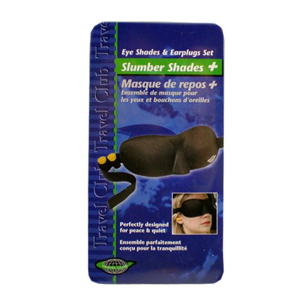 Eye Shades and Earplug Set - Jet-Setter.ca