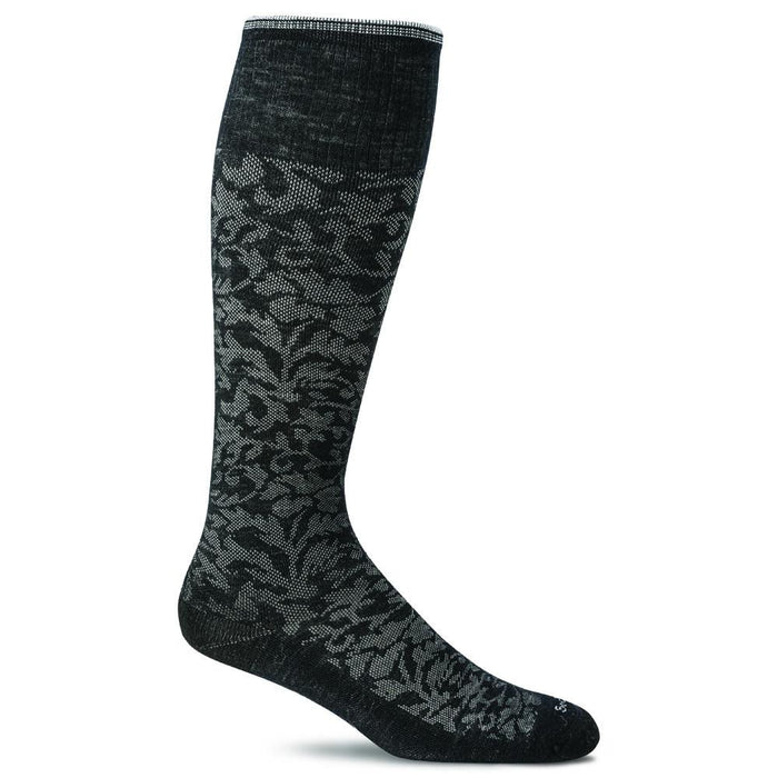 Women's Damask 15-20mmHG Compression Socks - Jet-Setter.ca