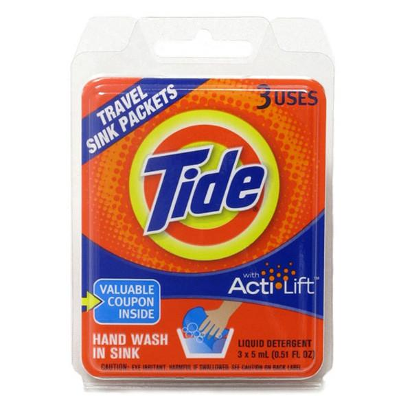Tide Travel Sink Wash - 3 Pack - Jet-Setter.ca