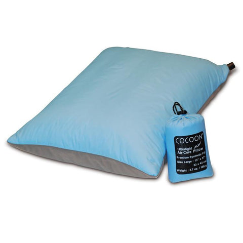 Cocoon Ultralight Air-Core Synthetic Travel Pillow - Jet-Setter.ca