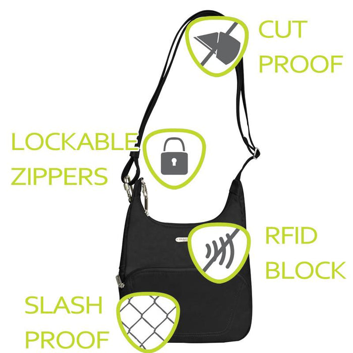 Anti-Theft Essential Classic Purse - Jet-Setter.ca