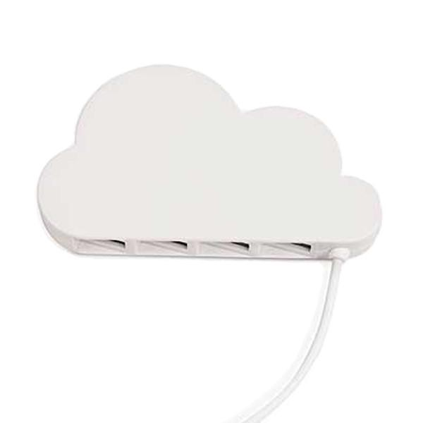 4 Port USB 2.0 Cloud Hub - Jet-Setter.ca