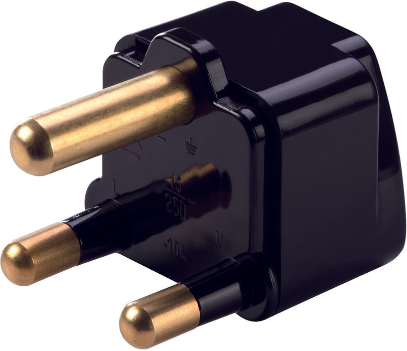Grounded South Africa and India Adapter Plug