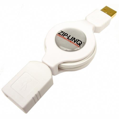 "Retractable 48"" USB 2.0 Extension Cable - Jet-Setter.ca"