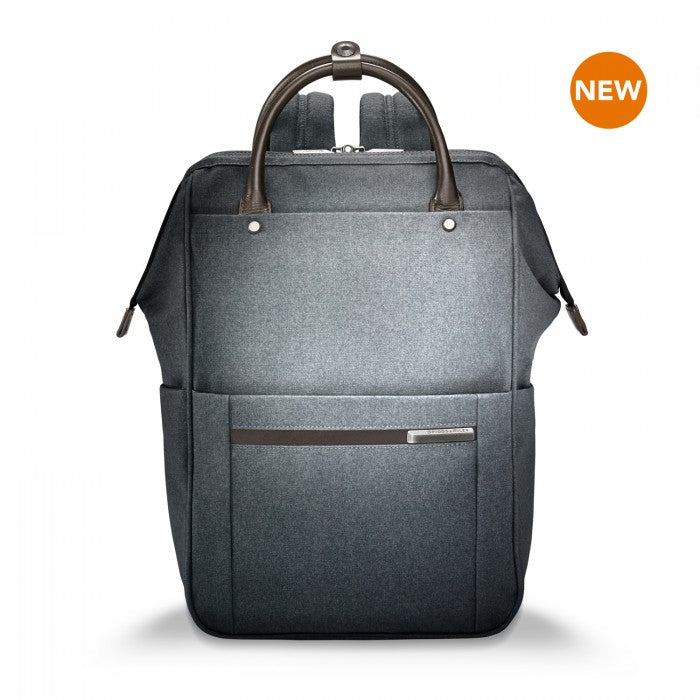Briggs & Riley Kinzie Street Framed Wide-Mouth Backpack - Jet-Setter.ca