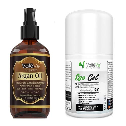 Argan Oil and Under Eye Gel