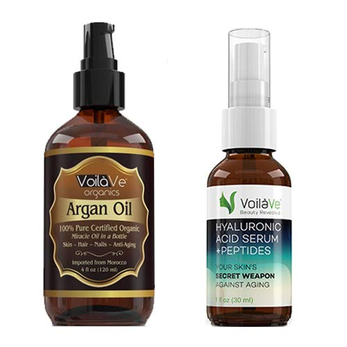 Argan Oil and Hyaluronic Acid Combo