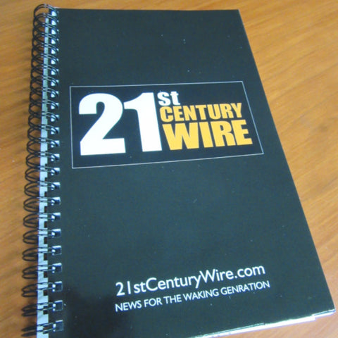 21st Century Wire Notebook