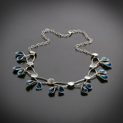 Leaves of life collection elegant necklace