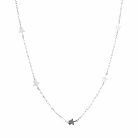 Boom AllStars Short Necklace Sterling Silver