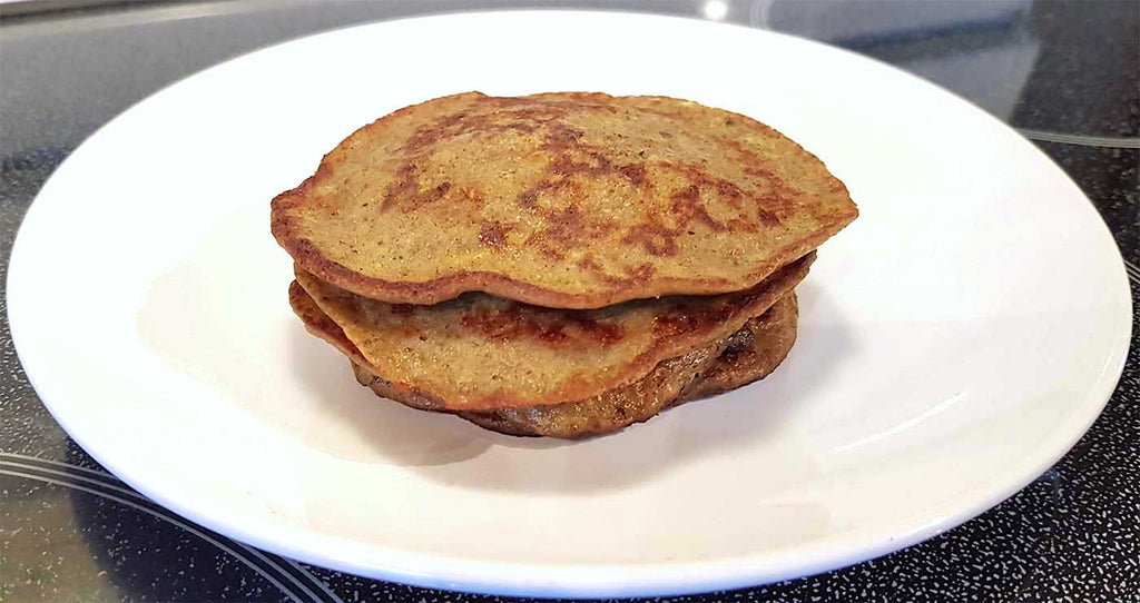 3 Ingredient Banana & Protein Pancakes
