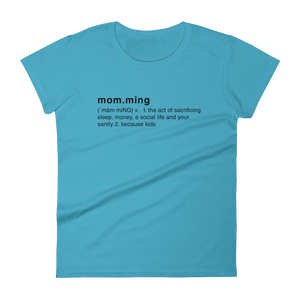 Momming Definition short sleeve t-shirt