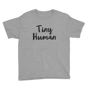 Tiny Human Youth short sleeve t-shirt