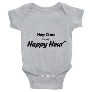 Nap Time Is My Happy Hour Onesie