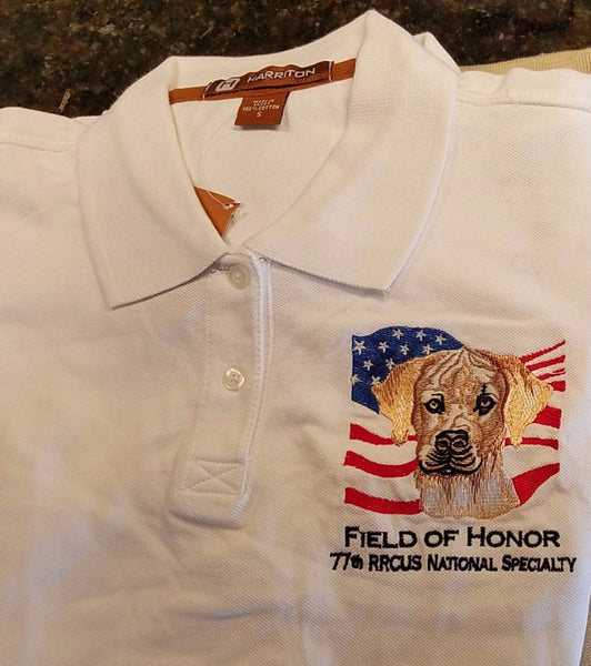 Ladies' 2008 Gettysburg embroidered polo