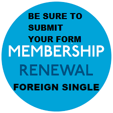 Membership Renewal 2018 RRCUS Foreign* Voting Single