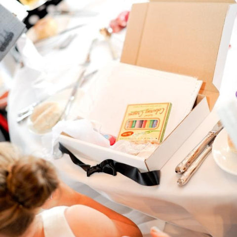 Same Sex Wedding Activity Box (personalised)