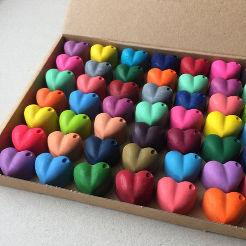 Heart Shaped Crayons - OUT OF STOCK